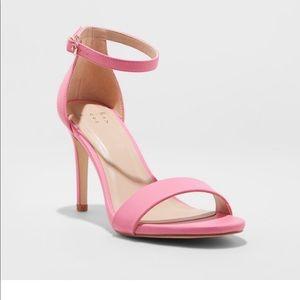 A New Day Pink Sandal Pump Heels
